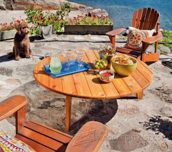 1068-Outdoor Table Plans
