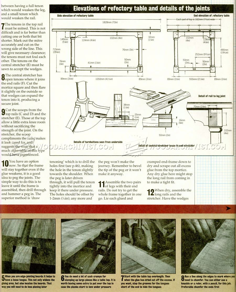 Country Table Plans Country Table Plans ...