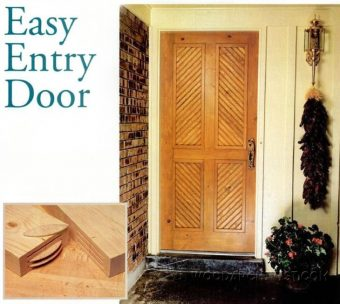 1075-Easy Entry Door Plans