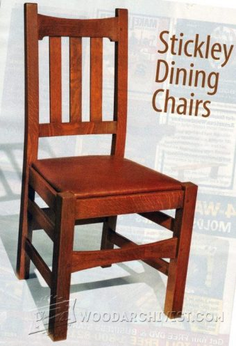 1079-Stickley Chair Plans