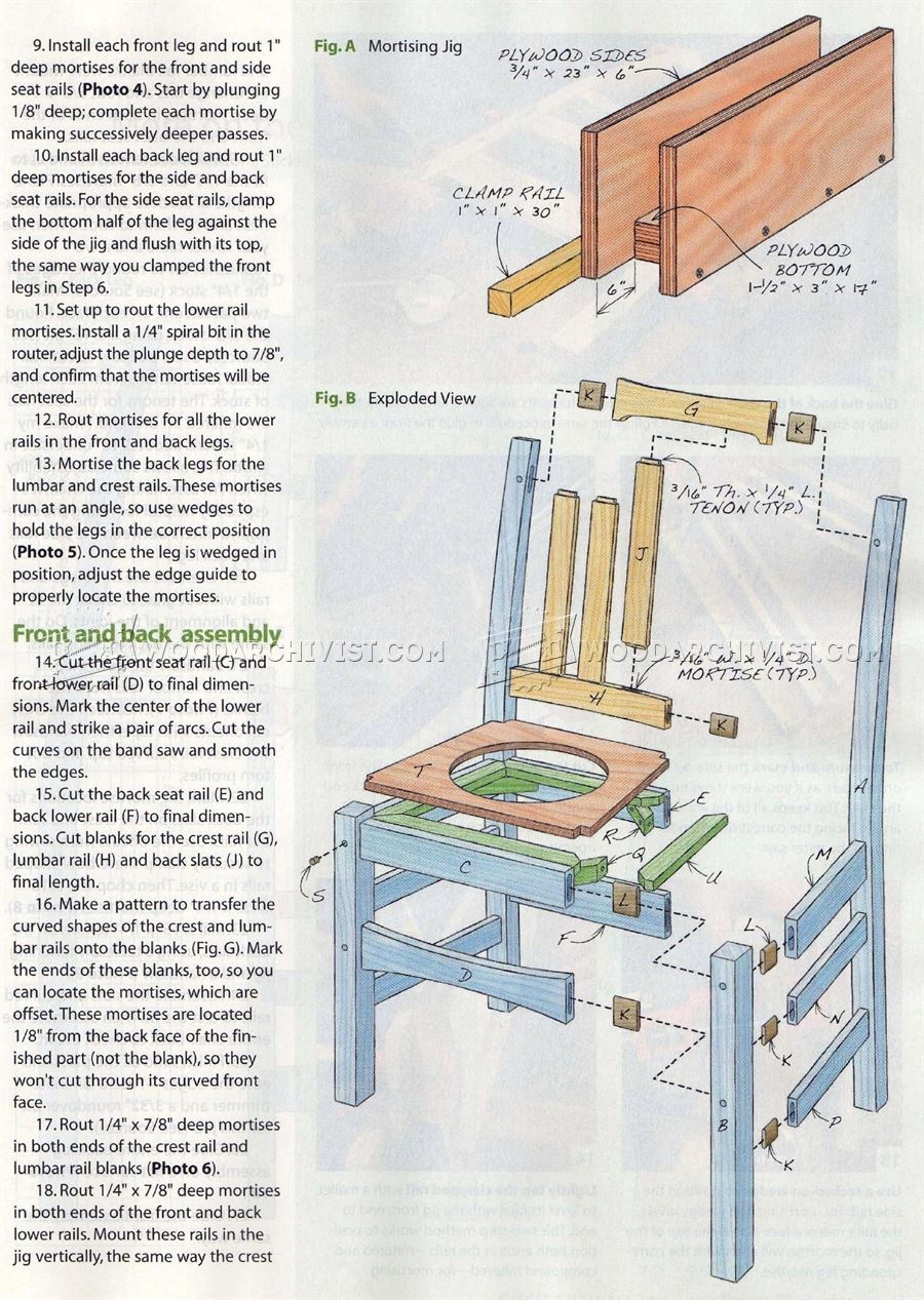 Stickley Chair Plans