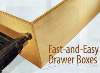 1089-Making Drawer Boxes