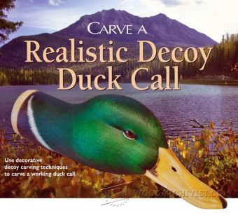 921-Realistiс Duck Call Carving - Wood Carving Patterns