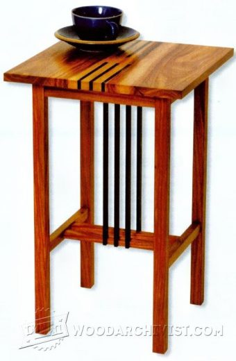 926-Side Table  Plans