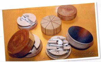 929-Woodturning Projects - Earphone Organizer