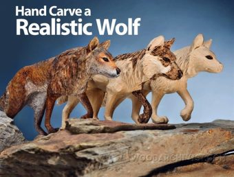 941-Wolf Carving - Wood Carving Patterns