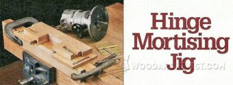 943-Hinge Mortising Jig Plans