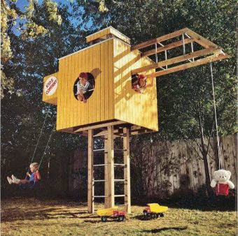 945-Kids Play Structure Plans