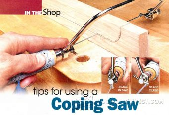 949-Tips for Using a Coping Saw