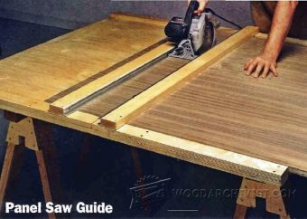 Diy Circular Saw Edge Guide Woodarchivist