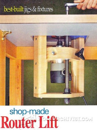 968-Router Table Lift Plans