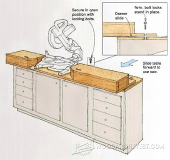 979-Space-Saving Miter Saw Stand
