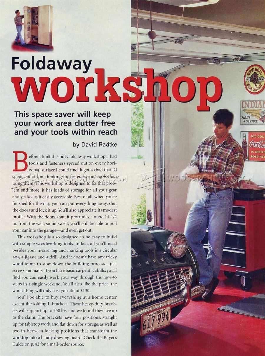 Folding Workshop Plans