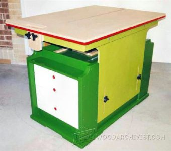 988-Adjustable Height Workbench Plans