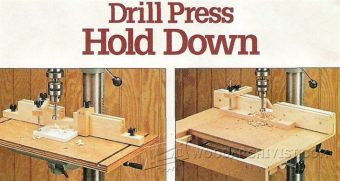 990-Shopmade Drill Press Hold Down