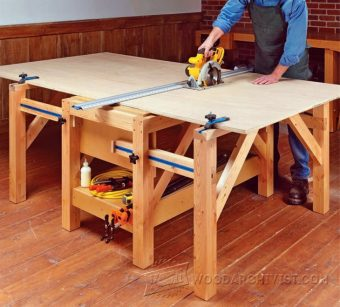 996-Plywood Cutting Table Plans