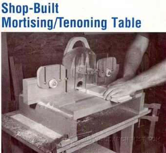 997-Mortise and Tenon Jig Plans