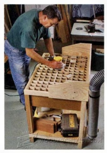 1092-Downdraft Sanding Table Plans