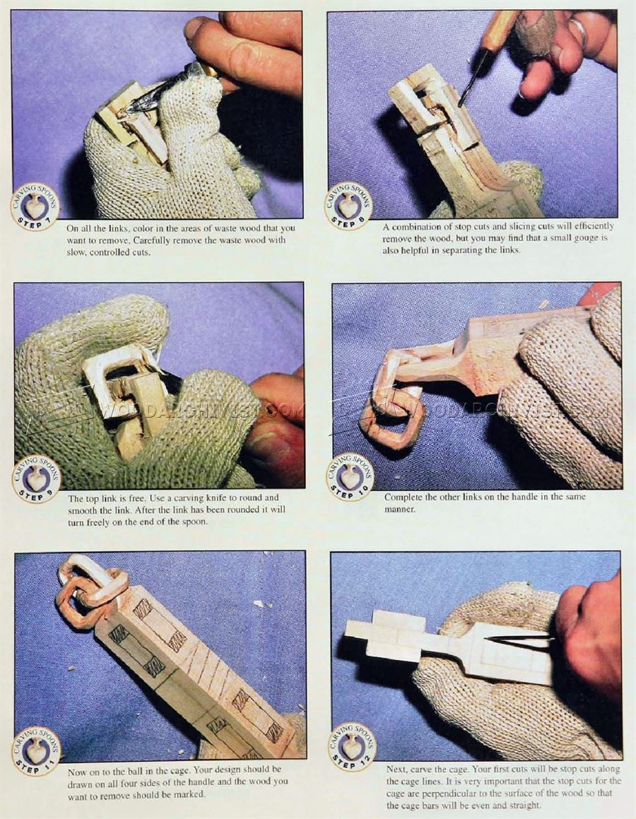 Carving Spoons - Wood Carving Patterns