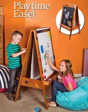 1119-Kids Easel Plans