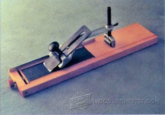 Chisel And Plane Iron Sharpening Jig Plans Woodarchivist