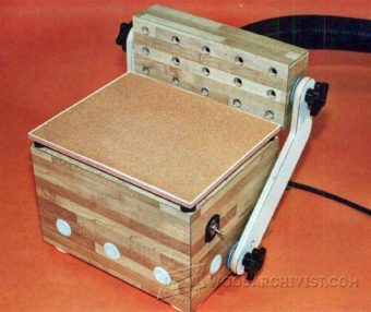 1123-Inverted Orbital Pad Sander