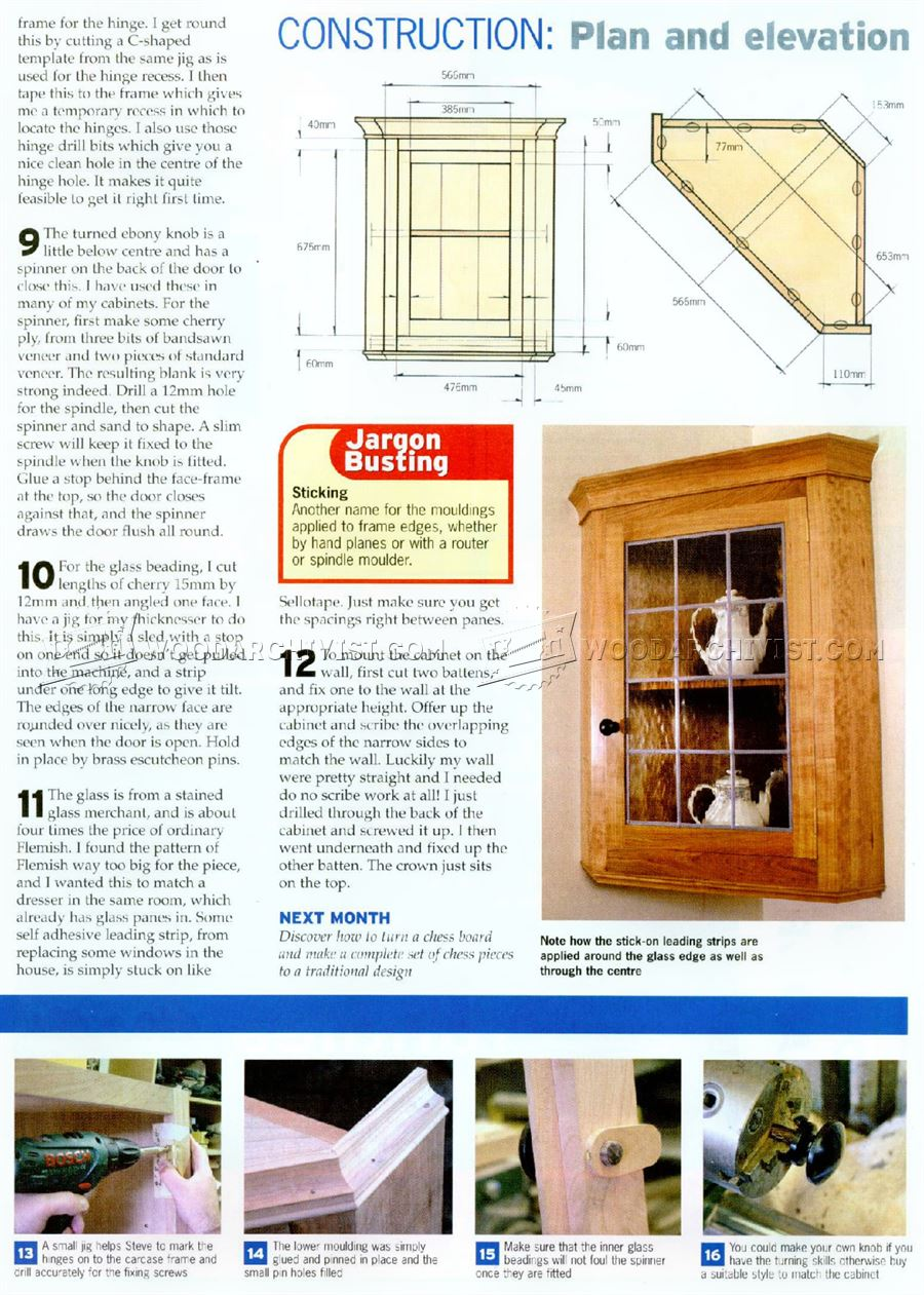 Display Cabinet Plan