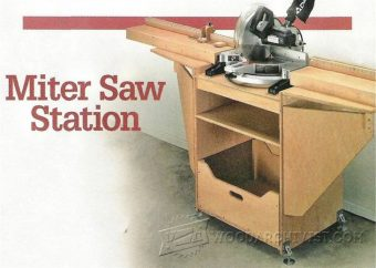 Miter Saw Dust Hood • WoodArchivist