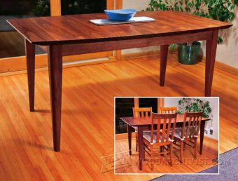 1139-Dining Table Plans