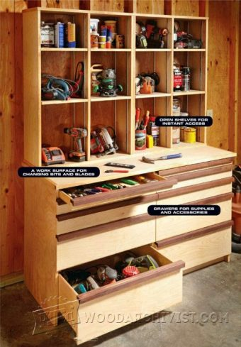 1142-Ultimate Tool Cabinet Plans