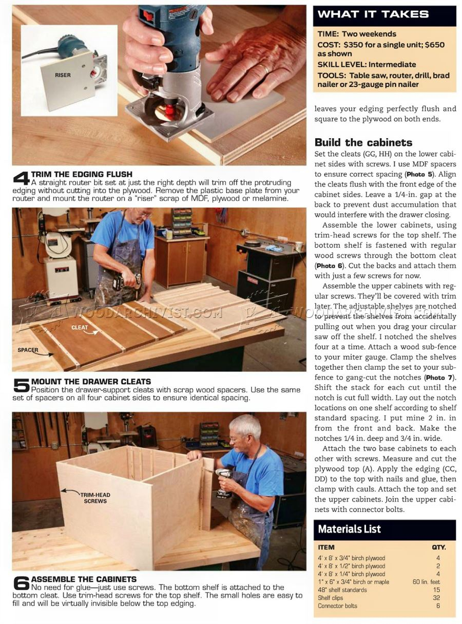 Ultimate Tool Cabinet Plans