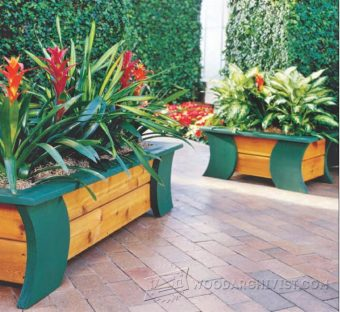 1149-Patio Planter Plans
