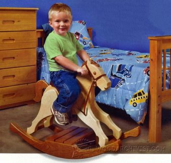1161-Rocking Horse Plans