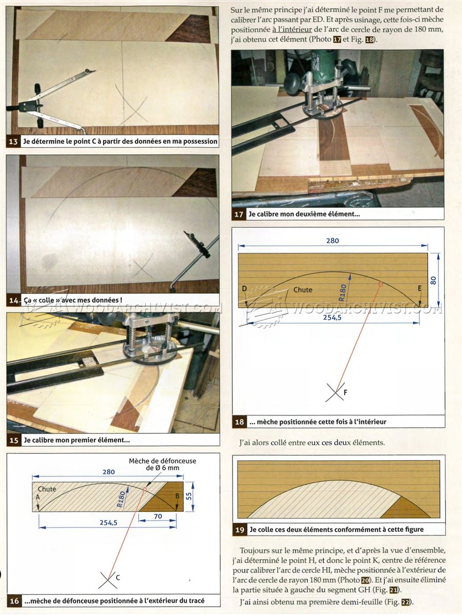 Marquetry Side Table Plans Woodarchivist