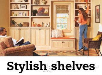 1173-Stylish Shelves Plans