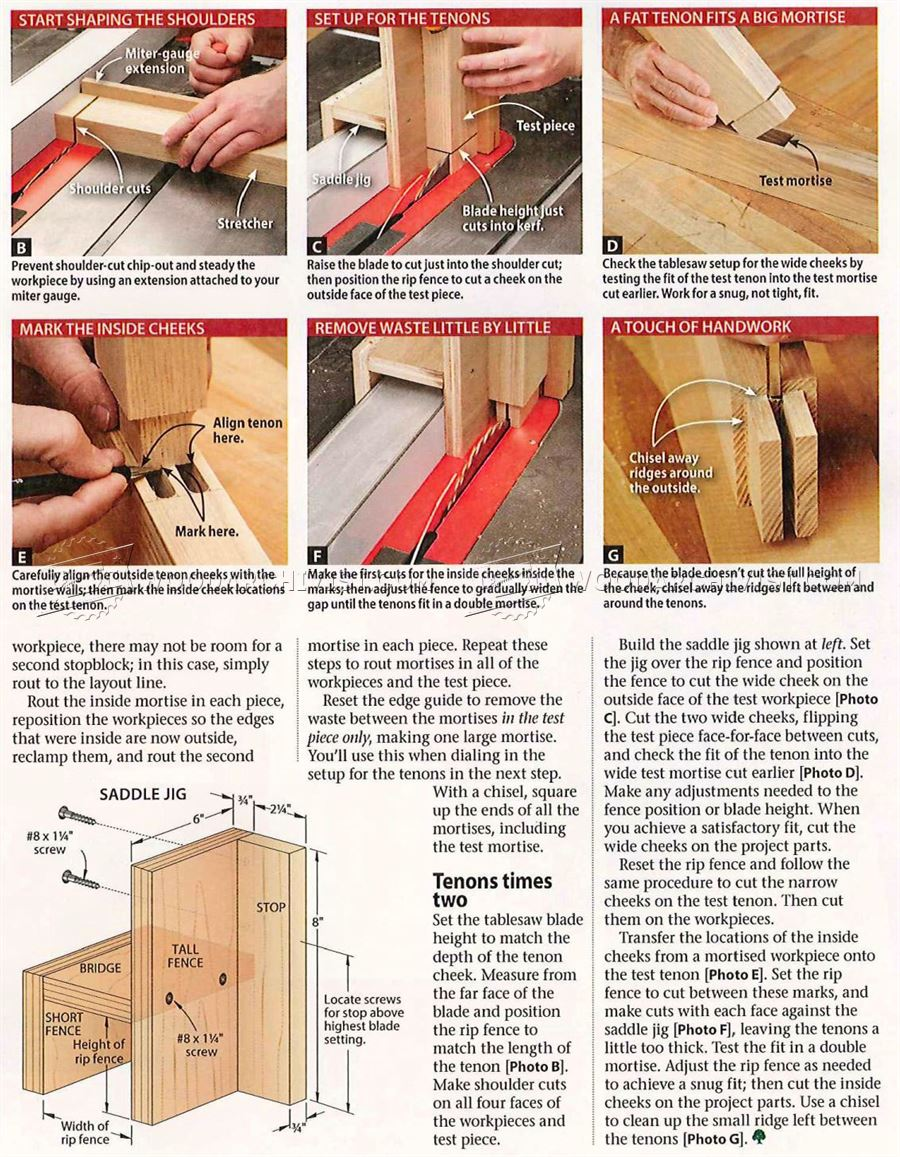 #1178 Double Mortise and Tenon Joint
