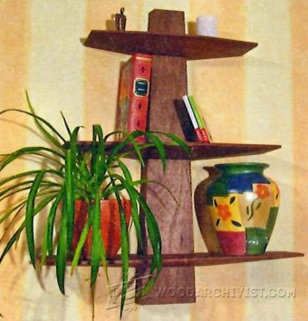 1183-Wall Shelf Plans