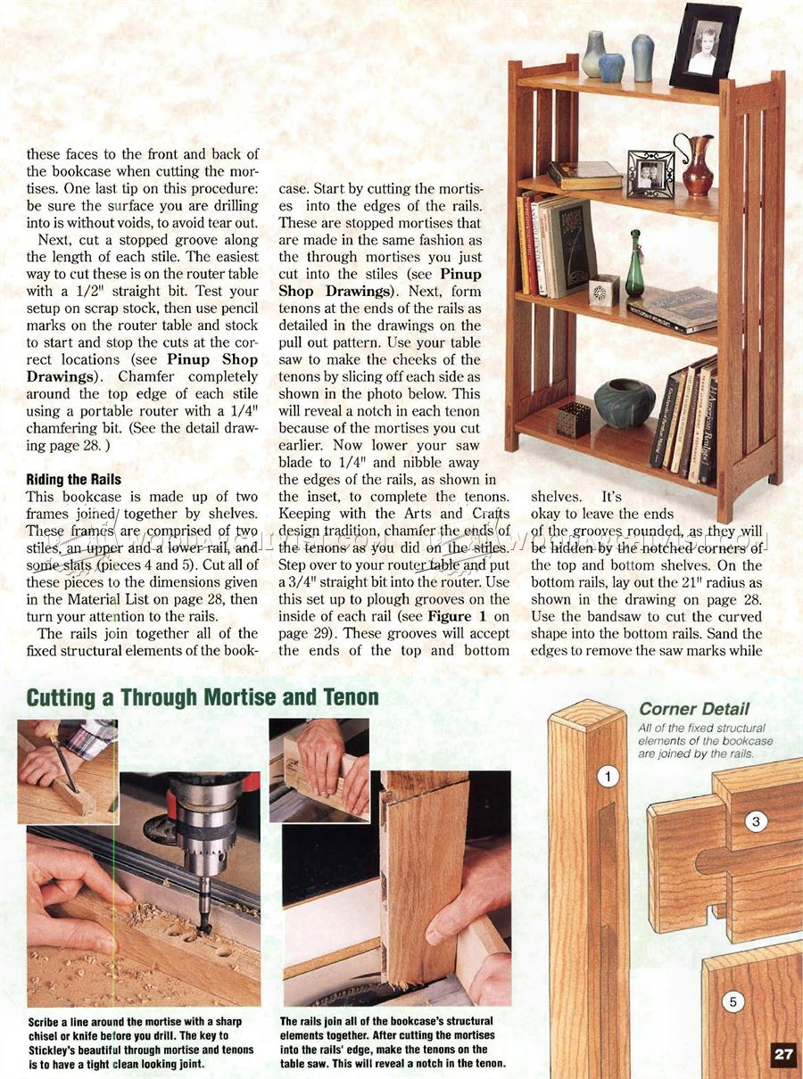 Arts and crafts furniture plans - Arts And Crafts Bookcase Plans Arts And Crafts Bookcase Plans