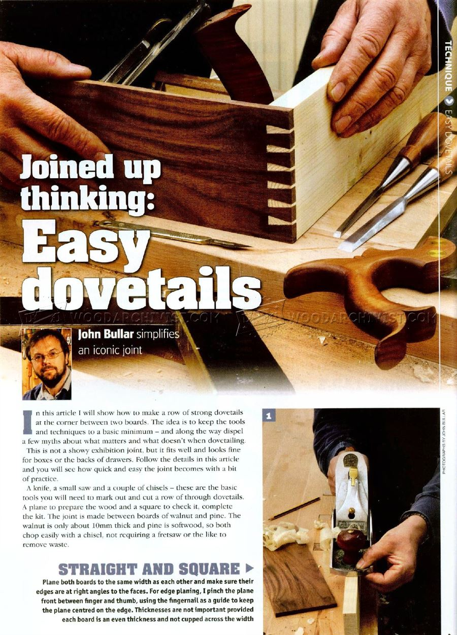 #1190 Making Dovetail Joints