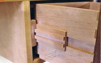 Making Dovetail Drawer Slides Woodarchivist