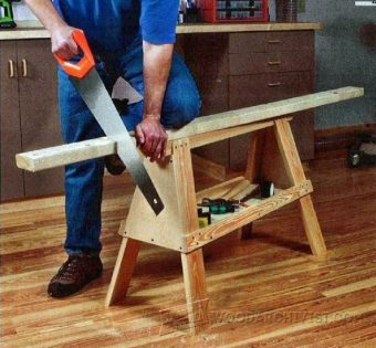 1198-Carpenter's Sawhorse Plan