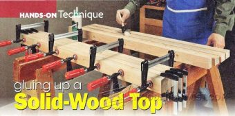 1199-Gluing Up a Solid-Wood Top