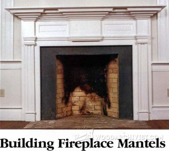 1203-Fireplace Mantels Plans