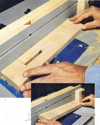 1204-Cutting Slots on a Router Table