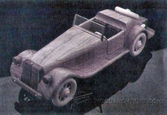 1207-Wooden  Roadster Plans
