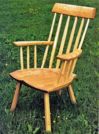 1209-Windsor Chair Plans