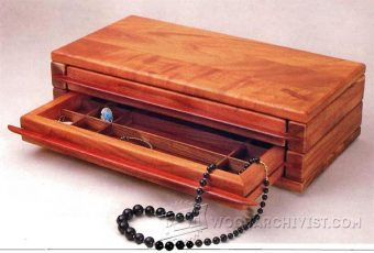 1213-Jewelry Chest  Plans