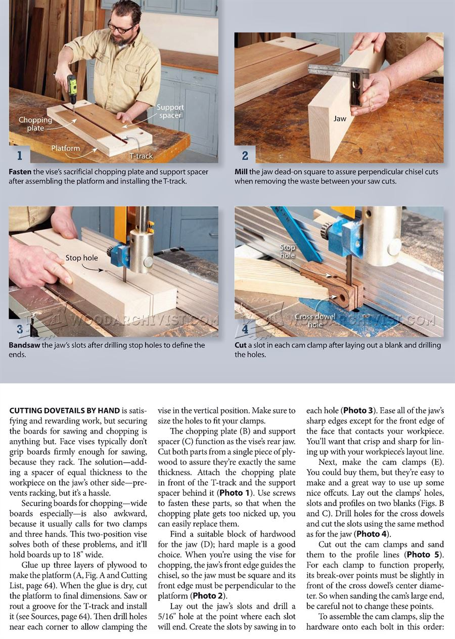 Dovetail Joint Vise