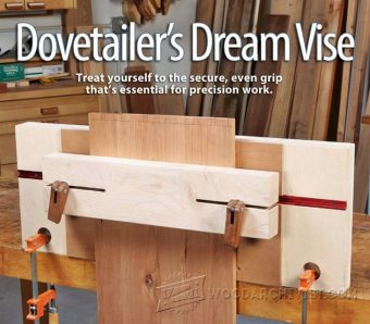 1215-Dovetail Joint Vise