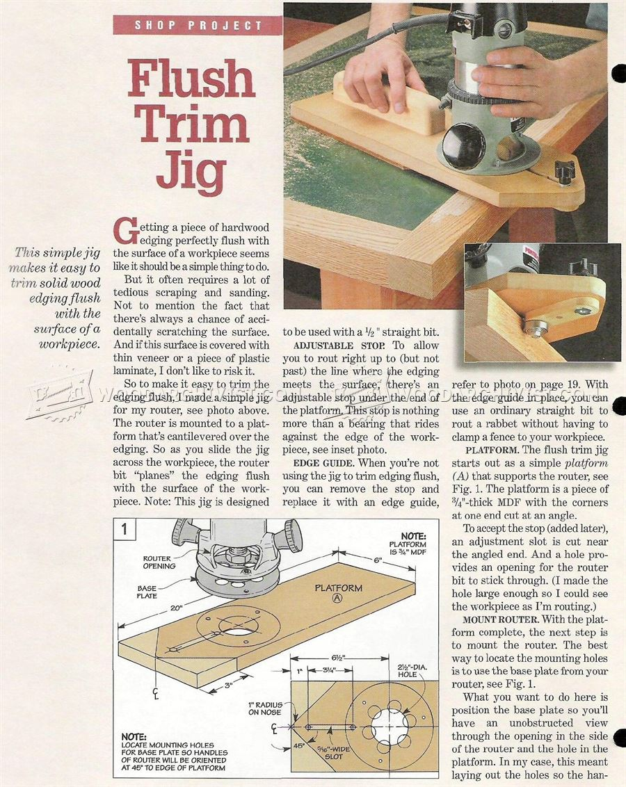 Flush Trim Jig